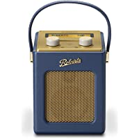 Roberts Radio Revival Mini DAB/DAB+/FM Digital Radio - Midnight Blue - Amazon Exclusive