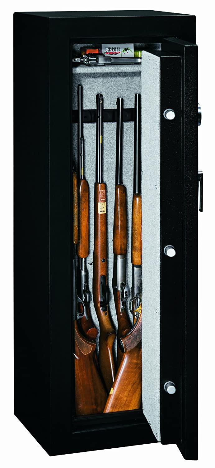 Amazon.com: Stack-On FS-8-MB-E 8-Gun Fire Resistant Safe with ...