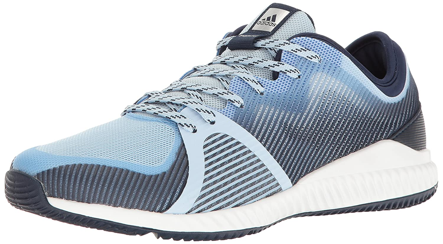 adidas Women's Crazytrain Bounce Cross-Trainer Shoes B01M02A4R1 6.5 M US|Easy Blue/Metallic Silver/Tech Blue