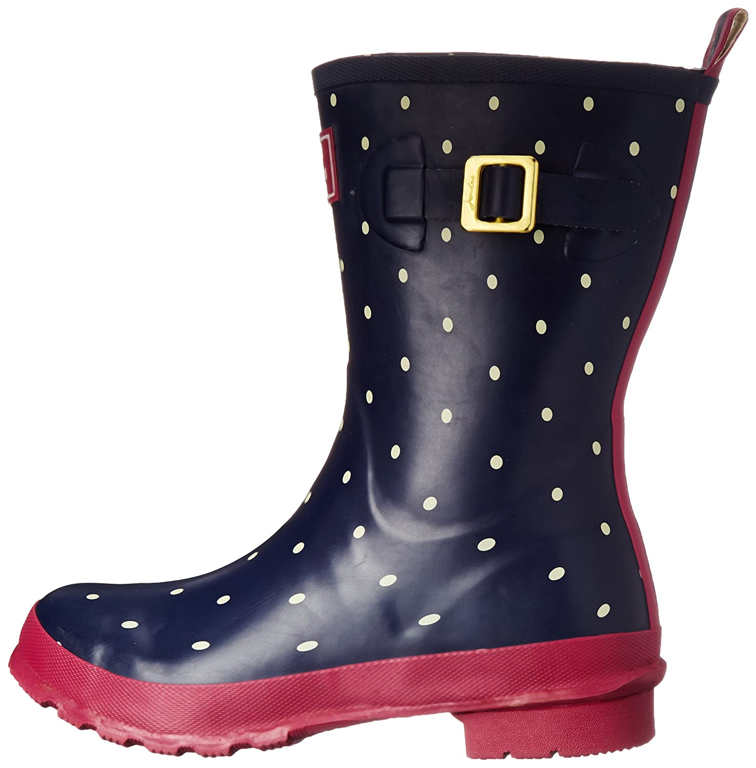 Joules 7 Women's Molly Welly Rain Boot B00VLNPCMG 7 Joules M US|Navy Spot White 8d686e