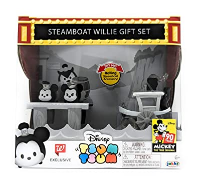 Tsum Tsum Mickey Supply Brand New In Box Steamboat Willie Set 90th Anniversary Choice Materials