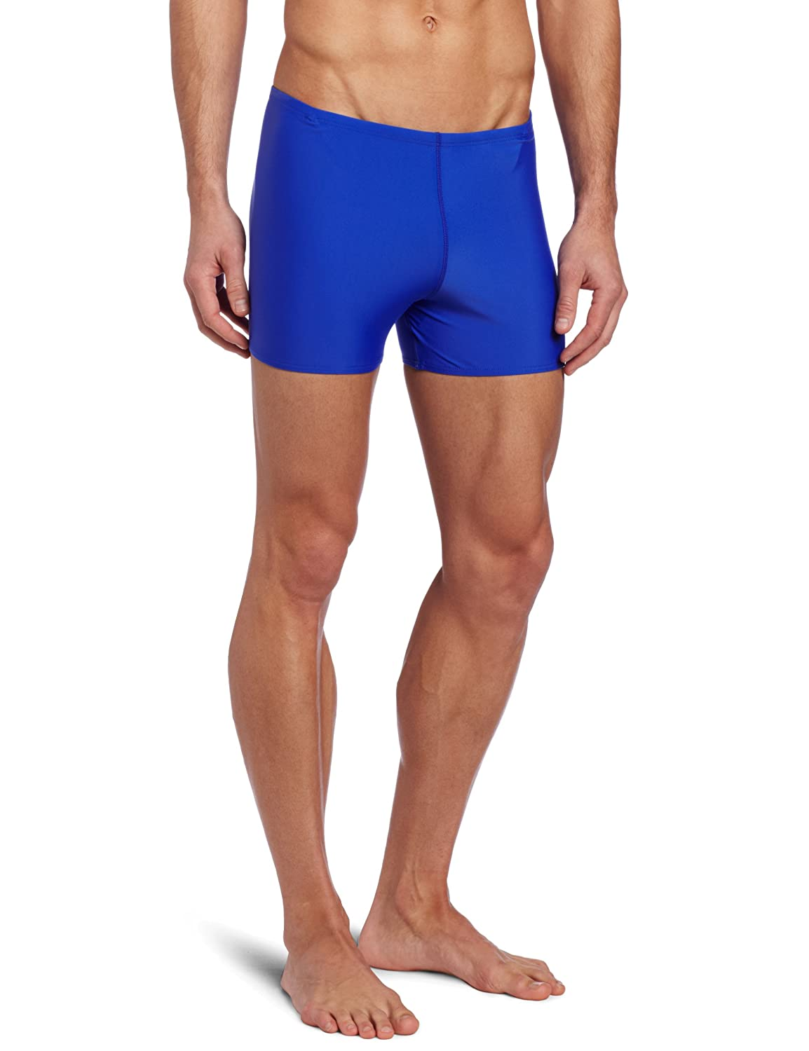 TYR Sport Men's Square Leg Short Swim Suit SSQU1A