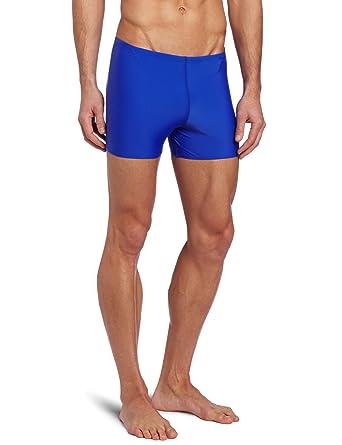 4b4d652de9 Amazon.com : TYR Sport Men's Square Leg Short Swim Suit : Athletic Swim  Jammers : Clothing