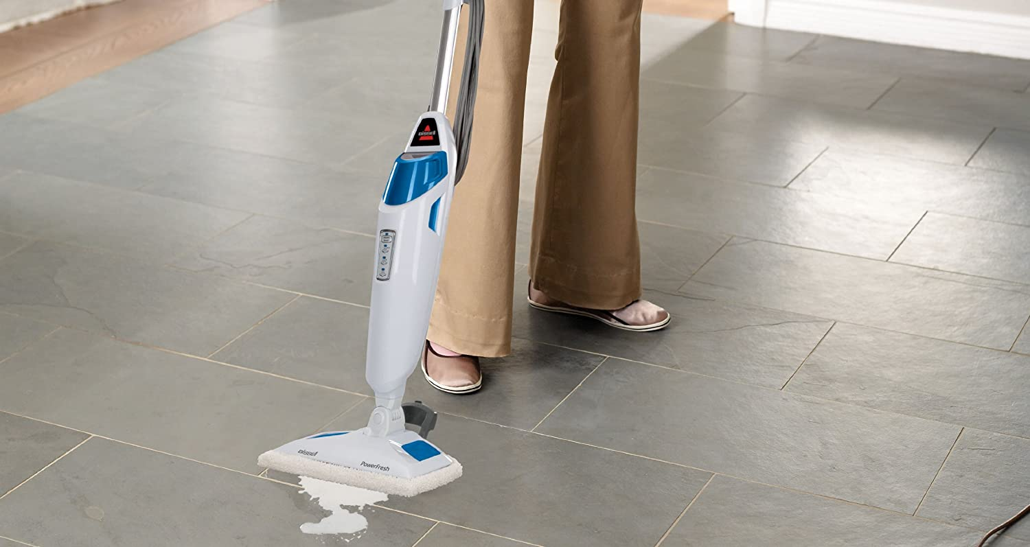 BISSELL 1940 Powerfresh Steam Mop – Best Steam Mop for Grout