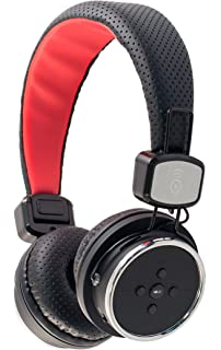 1308a5ba856cc5 Bitmore Bluetooth On-Ear Wireless Headphones with Built-In Microphone,  Micro SD Slot
