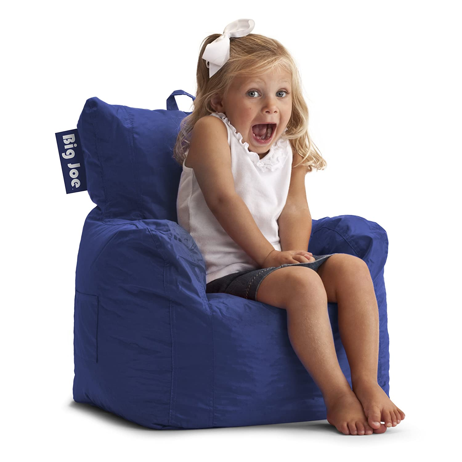 Amazon Big Joe Cuddle Chair Sapphire Kitchen Dining