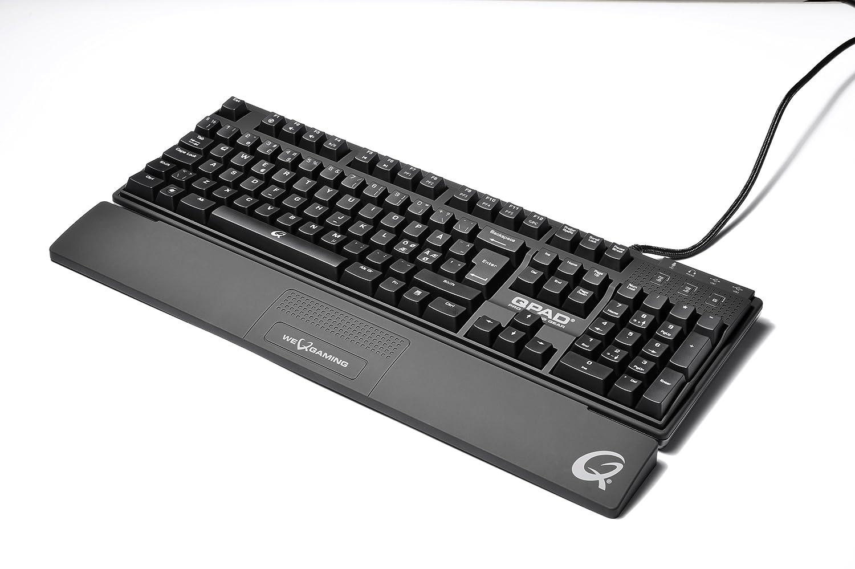 Qpad MK-80 Pro Gaming - Teclado retroiluminado azul: Amazon.es: Informática