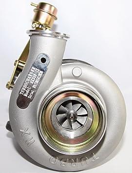 Cummins hx35 W Diesel Cargador de Turbo holset T4 brida (800 + HP): Amazon.es: Coche y moto