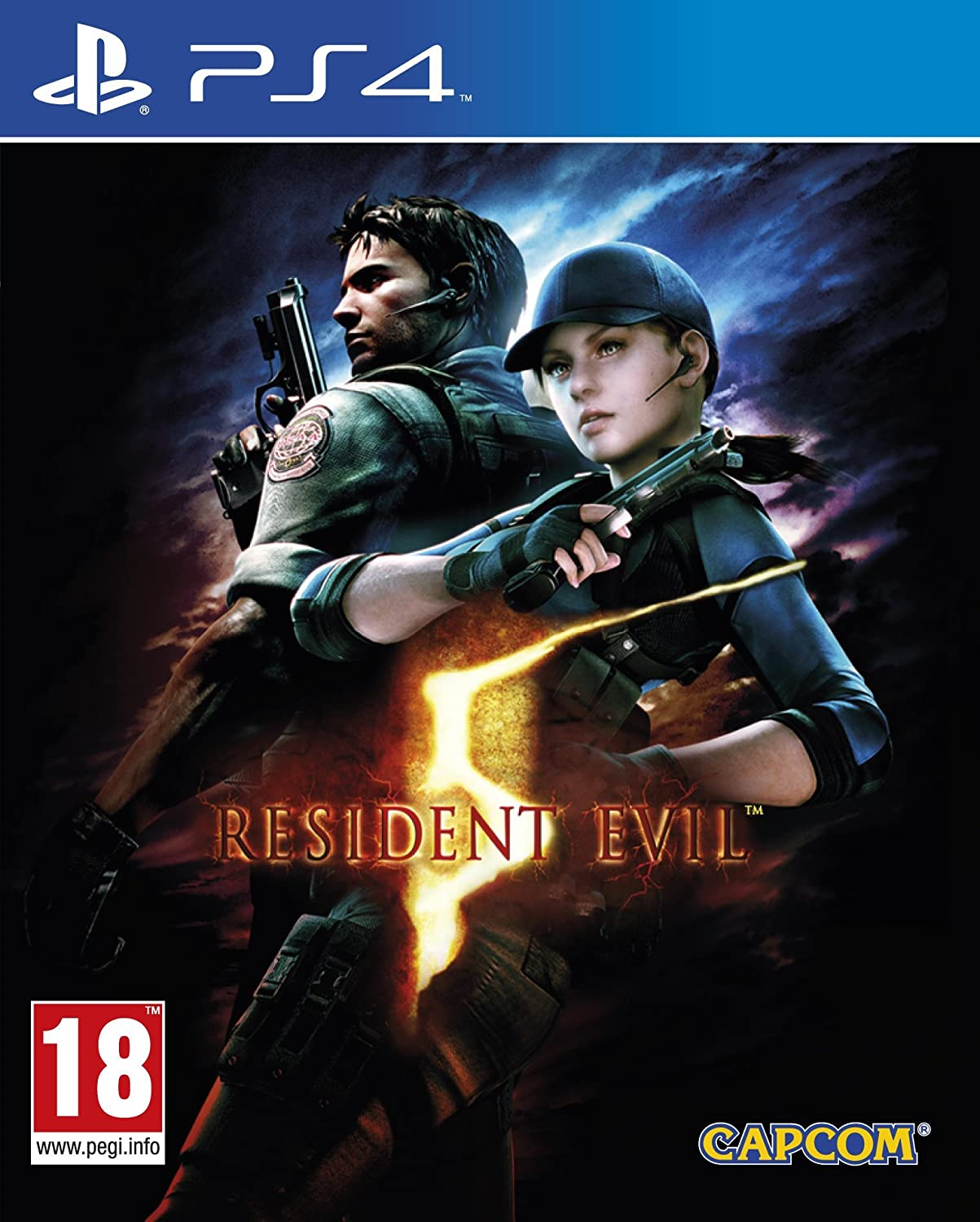 Amazon Com Resident Evil 5 Hd Ps4 輸入版 Video Games