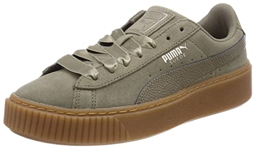 3d160013d222 Puma Womens Suede Platform Bubbles WNS Suede Trainers  Amazon.ca ...