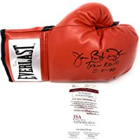James Buster Douglas Signed Autograph Boxing Glove TYSON KO Inscribed JSA Witnessed Certified photo