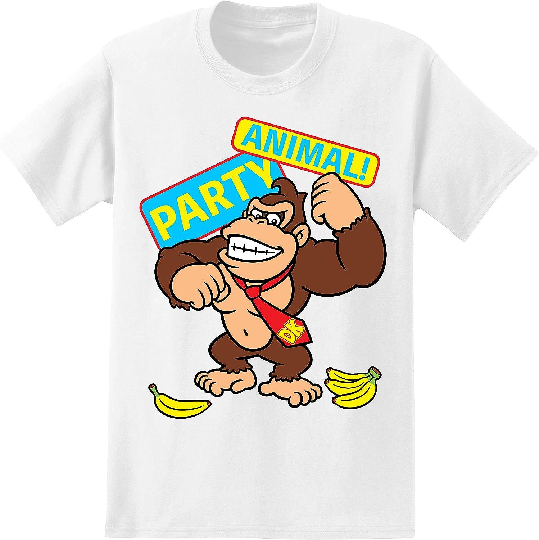 Nintendo Mens Video Game Shirt - Mario, Luigi, Zelda, Kirby, and Donkey Kong Vintage Tee