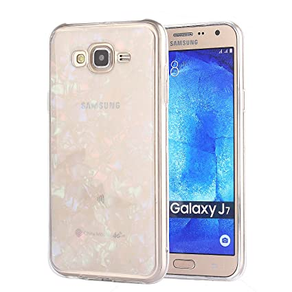 Amazon.com: CaseHaven Galaxy J7 Funda, Glitter Crystal ...