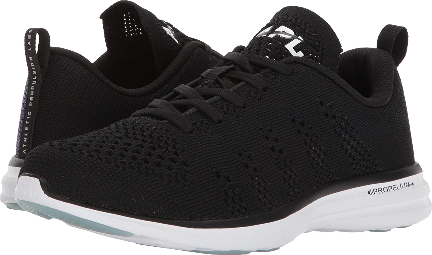 APL: Athletic Propulsion Labs Women's Techloom Pro Sneakers B075FWNWXB 5 B(M) US|Black/Iridescent