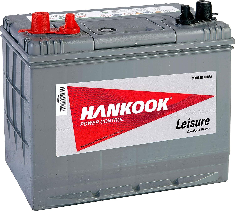 Hankook Batterie 80Ah Profonde Cycle Loisirs 4 Ans de Garantie DC24MF