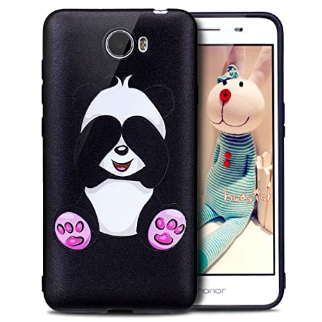 Carcasa Huawei Y5 II, funda Huawei Y5 II, Huawei Y5 II Case, ikasus® – Carcasa Huawei Y5 II Funda Mariposa Panda búho flor modelo color pintado suave ...