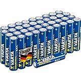 Varta Confezione Industrial 40 Batterie Alcaline, Tipo AAA, Ministilo AAA LR3