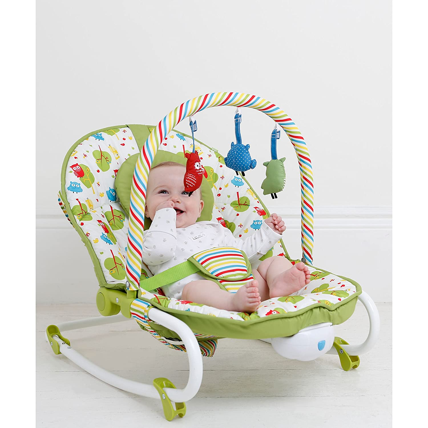 Mothercare 2 in 1 Rocker and Bouncer Owls Amazon Baby