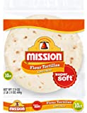 Mission, Soft Taco Flour Tortillas Small, 10 ct
