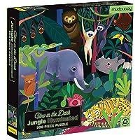 Jungle Illuminated 500 Piece Glow in The Dark, Family Puzzle