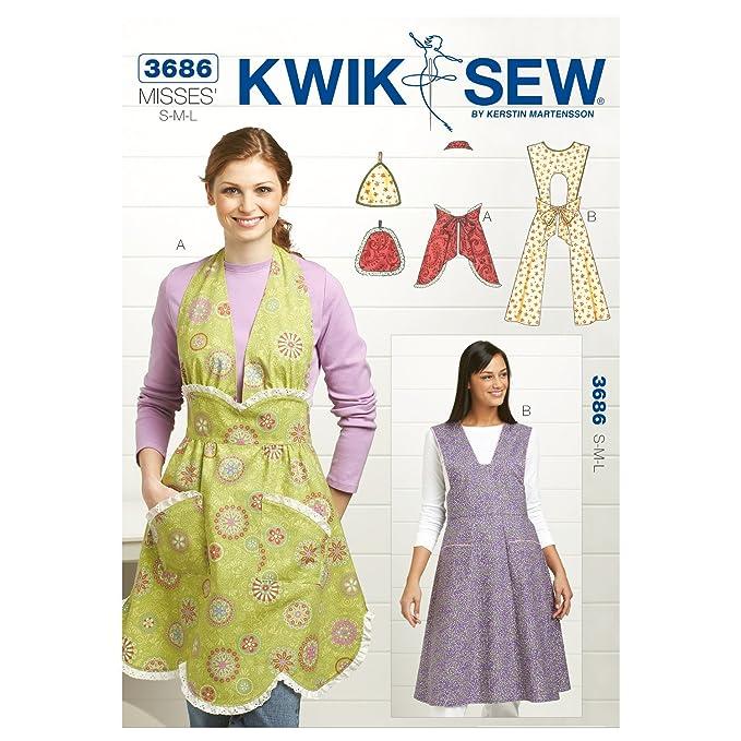 Kwik Sew Mustern K3686 Größe Small/Medium/Large Topflappen One Size ...