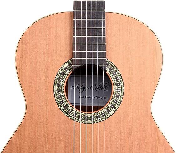 Set de Guitarra Clásica Antonio Calida GC201S 4/4 con 5 accesorios: Amazon.es: Instrumentos musicales