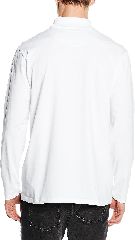 Henbury Mens Roll Neck Long Sleeve Top