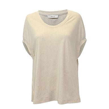 afc7c328 Amazon.com: ÁERON Womens Box T-Shirt Cream Heather Small: Clothing