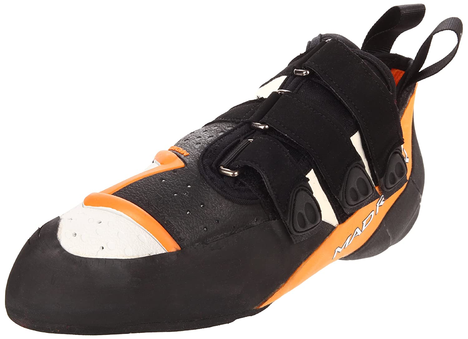 Mad Rock Demon 2.0 Climbing Shoe Orange/White/Black, 10.0 Demon 2.0-M