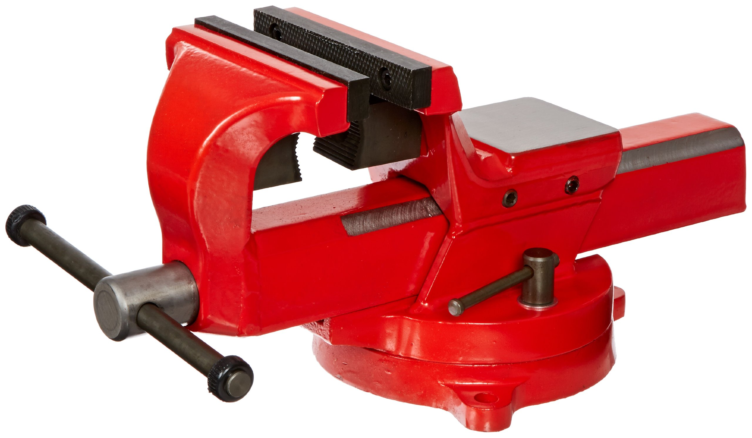 Yost Vises FSV-5 5'' Heavy-Duty Forged Steel Bench Vise with 360-Degree Swivel Base