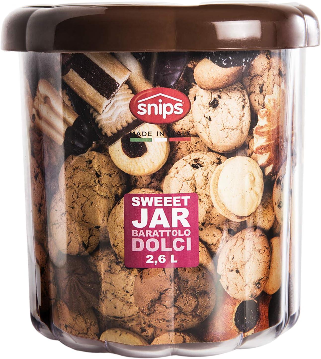 Marrone Snips 000801 Sweet Jar Barattolo Contenitori Dolci