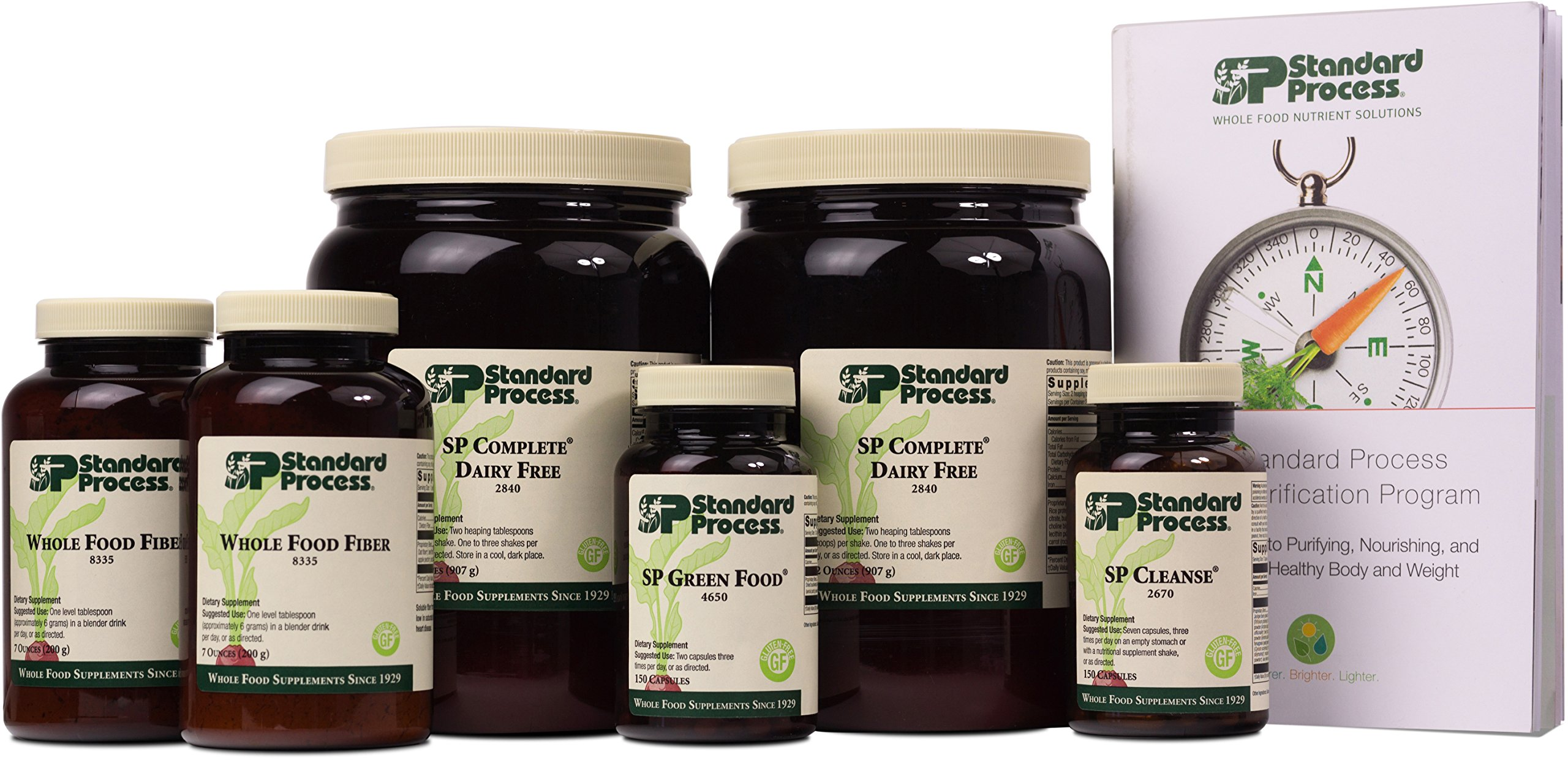 Standard Process - Purification Kit with SP Complete Dairy Free and Whole Food Fiber