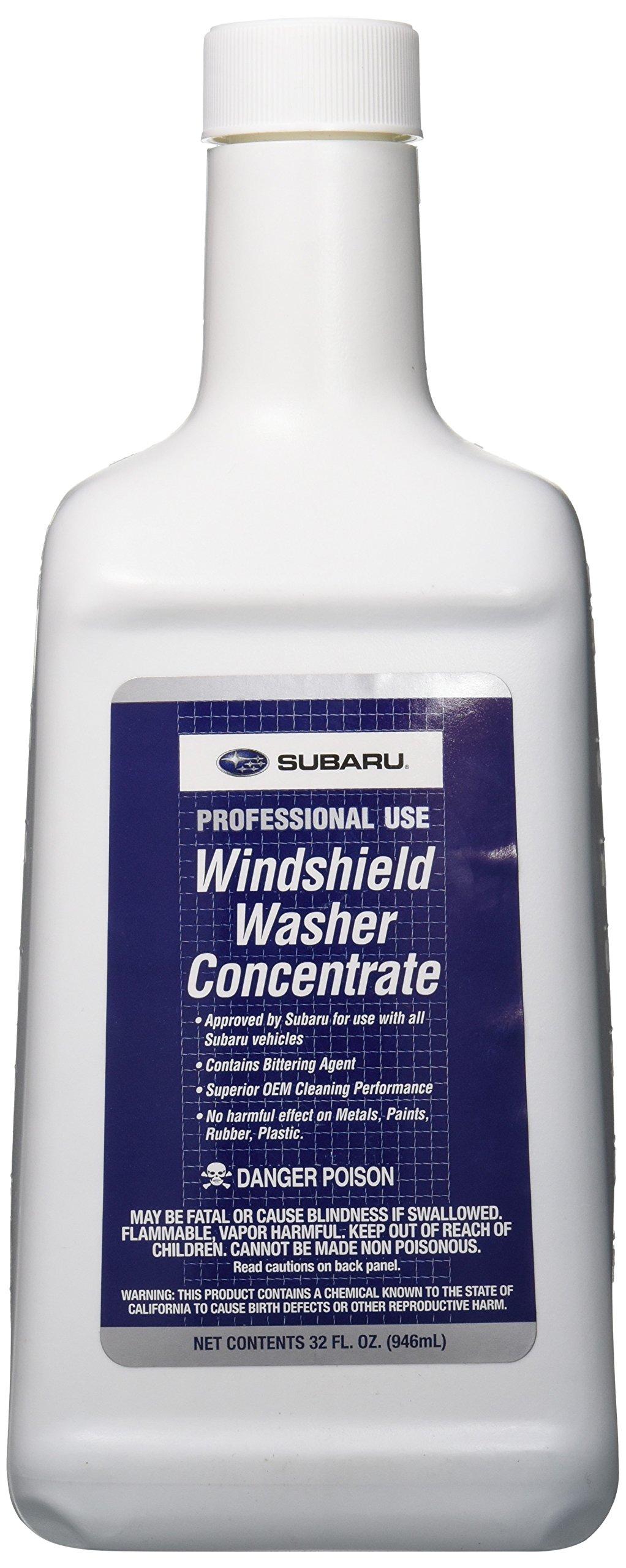 Subaru Genuine SOA868V9233 Windshield Washer Fluid, 32 ounce bottle, 1 Pack