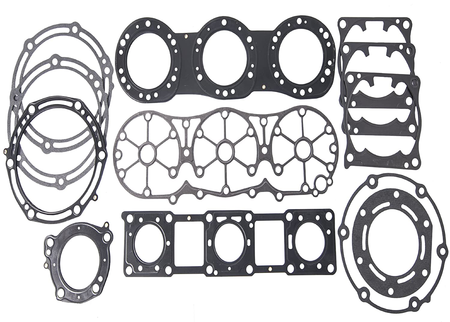 Yamaha 1200PV Top End Gasket Kit XLT 1200//GP 1200R//XR 1800 1999 2000 2001 2002 2003 2004 2005
