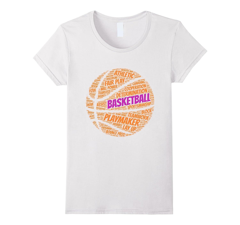 Basketball sayings shirt quotes for team gift girls kids-BN