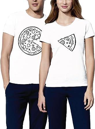 VIVAMAKE Pack 2 Camisetas para Mujer y Hombre Originales con ...