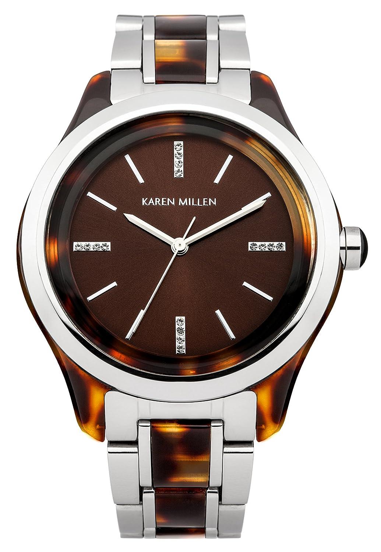 Karen Millen Damen-Armbanduhr Analog Quarz KM142TM