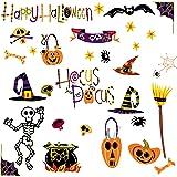 RoomMates PJ2003SCS Happy Halloween Peel & Stick Wall Decals