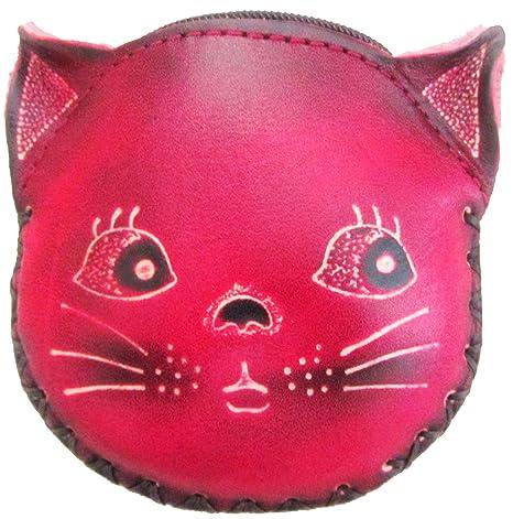Cartera de piel – gato regalo – Crazy Cat Lady – de regalo para gatos –