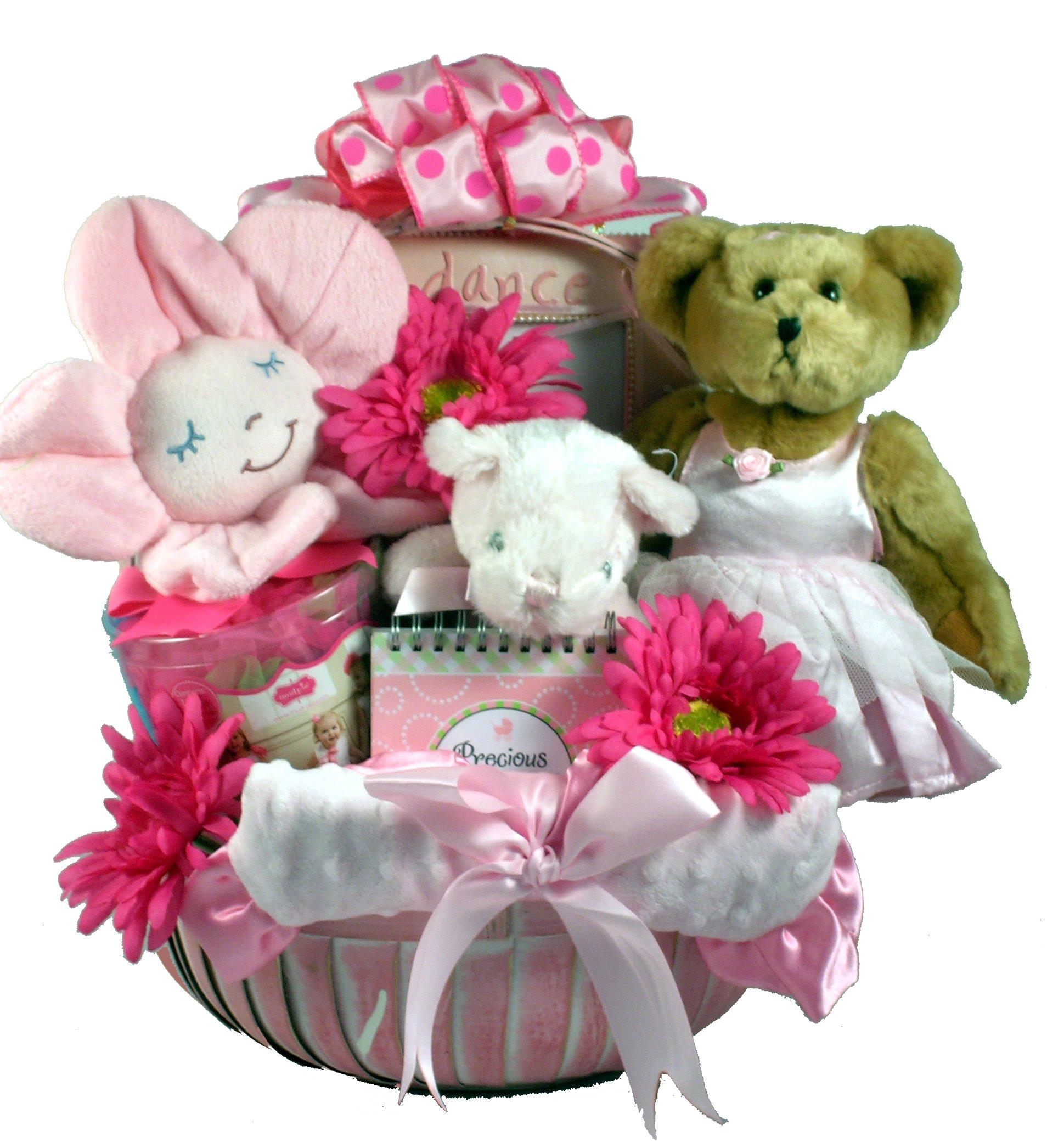 Gift Basket Village Tutu Cute, Ballerina Baby Girl Gift Set