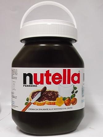 Ferrrero Nutella 5000 G 1er Pack 1 X 5 Kg Amazon Ca Grocery
