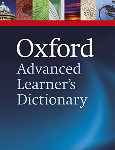 Oxford Advanced Learner�s Dictionary; 8th edition (Oxford Advanced Learner's Dictionary)