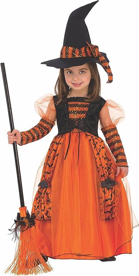 Disfraz de Bruja Brillante para niña, infantil 3-4 años (Rubies ...