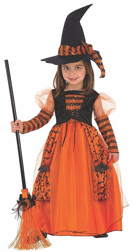 Disfraz de Bruja Brillante para niña, infantil 5-7 años (Rubies 510567-M)