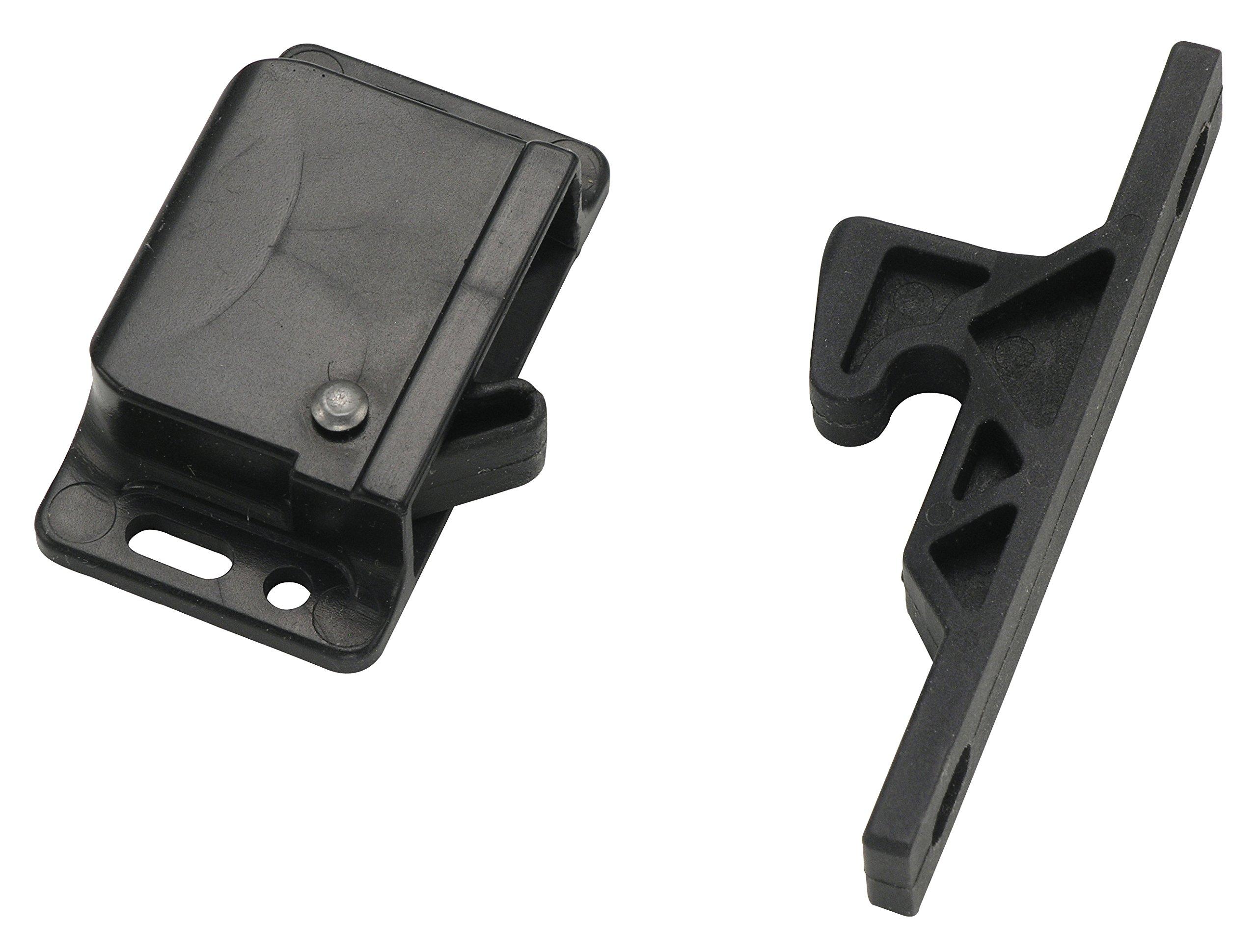 Decorite 5838 - RV Black Push Latch - 5lb - C3-805 - H315 (10)