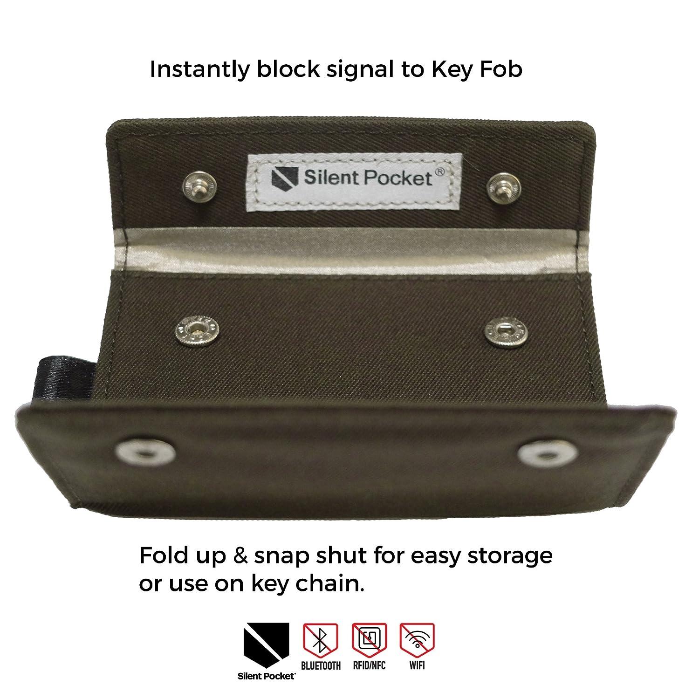 Amazon Silent Pocket Signal Blocking Faraday Key Fob Case Car