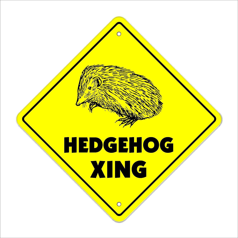 Erizo Crossing Sign Xing regalo novedad Ron Jeremy Sonic ...