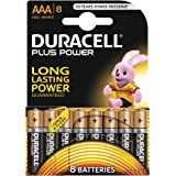 Duracell Plus Power Type AAA Alkaline Batteries, pack of 8