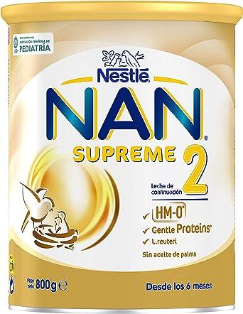 Nan Supreme 2 Leche de Continuación en Polvo Premium Fórmula ...