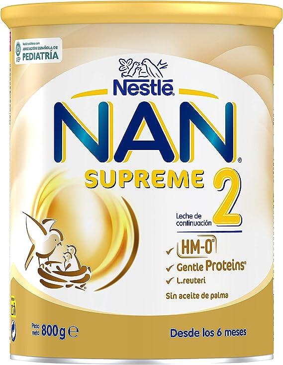 A partir de los 6 meses NAN SUPREME 2 800g F/órmula para beb/é Leche de continuaci/ón en polvo Premium